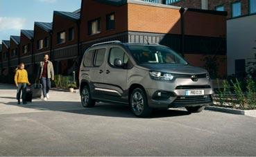 El nuevo vehículo comercial Toyota Proace City, a prueba