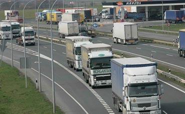 Navarra implantará peajes a vehículos pesados en la carretera N-121-A