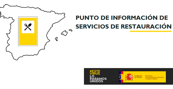 Mitma activa el punto de información de servicios de restauración en carreteras