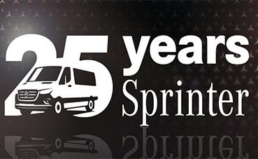 Meet Mercedes digital, 25 años del Sprinter