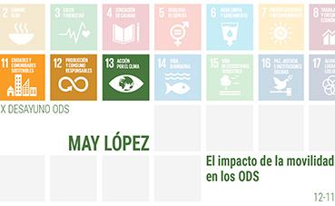 Tres de los ODS, tienen relación directa con la movilidad