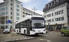 Leipzig hace el cambio al autobús eléctrico