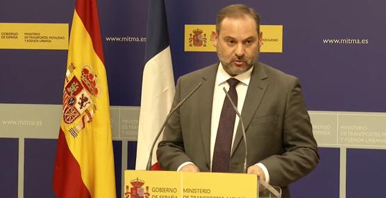 Ábalos presenta hoy los presupuestos del Ministerio de Transportes, Movilidad y Agenda Urbana para 2021