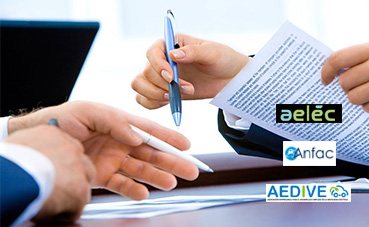 Anfac firma un acuerdo con Alec y con Aedive, por un futuro eléctrico