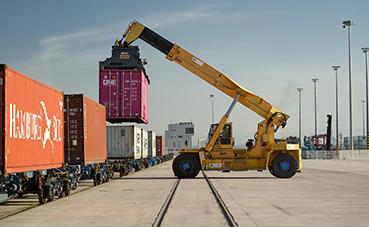 Puerto de Algeciras bate su tráfico movido en ferrocarril