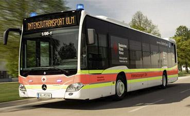 Mercedes-Benz Citaro transporta pacientes con Covid-19