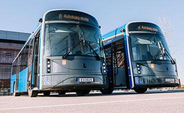 Lituania fabrica su primer autobús eléctrico con carga rápida