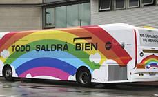La solidaridad viaja en el transporte público de Murcia