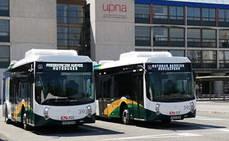 Pamplona y Comarca, refuerzan el servcio de autobús en horas punta