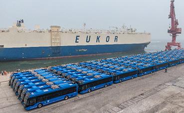 130 trolebuses Yutong, para el transporte de Ciudad de México
