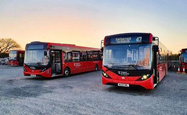 Tan solo tres meses para entregar 44 autobuses Enviro200