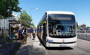 Nobina aumenta la flota de BYD eBus, con dos entregas