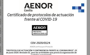 ATDL certifica su protocolo frente al Covid-19, en todos sus centros