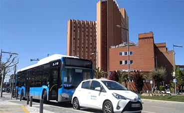 EMT Madrid respalda y gestiona el traslado de sanitarios