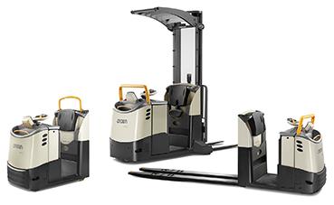 Crown actualiza sus modelos de recogepedidos y tractores de arrastre