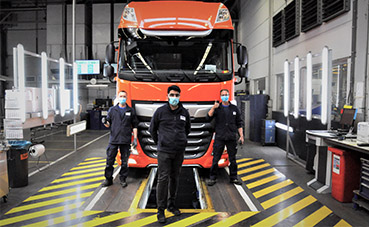 Se reinicia la producción en las fábricas del fabricante DAF