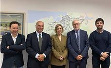 Dbus recibe visita de la delegación de Uruguay, en la feria 'Go Mobility'