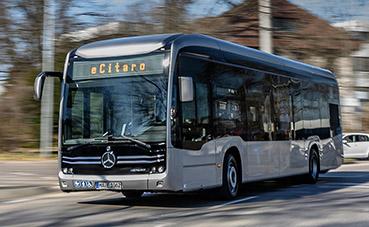 Aumentan las matriculaciones de autobuses eléctricos en la Unión Europea
