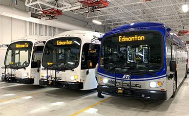 Edmonton, suma 40 autobuses eléctricos en Proterra, durante 2020