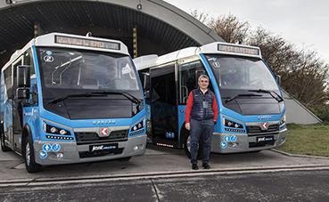 10 minibuses eléctricos para Rumania, de Karsan