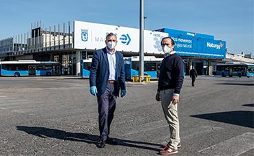 EMT sella el acuerdo de su Plan de desescalada, a la nueva normalidad