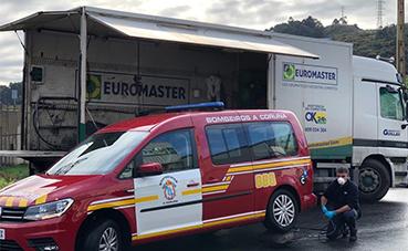 Euromaster a disposición de hospitales y residencias