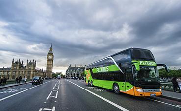 FlixBus lanza su nuevo servicio de autobuses en Reino Unido