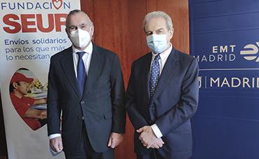 EMT reafirma su compromiso con Fundación Seur, por los niños enfermos