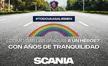 Tres o seis años de garantía, al adquirir un nuevo modelo Scania