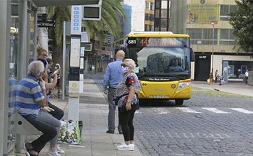 Guaguas Municipales recupera el 50% de sus viajeros
