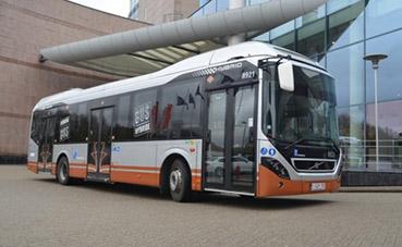 128 autobuses híbridos de Volvo, para Bruselas en 2021