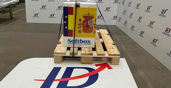 ID Logistics recibe las primeras vacunas de Pfizer en España