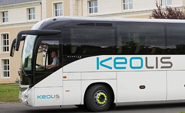 Keolis renovado,para operar autobuses en Estocolmo