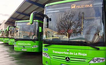 El transporte interurbano de La Rioja modifica sus horarios
