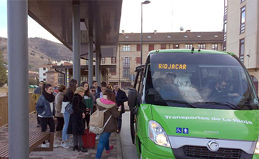 116.000 euros para compensar el déficit de transporte en La Rioja