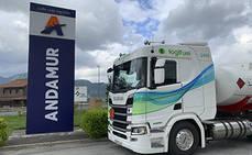 Logifuel incorpora su primer GNL, de 410 CV, de la mano de Scania