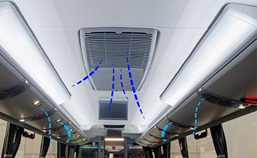 Marcopolo presenta su sistema de luz ultravioleta para autobuses
