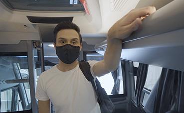Marcopolo desarrolla un sistema para baños de autobuses