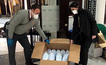 2.800 mascarillas quirúrjicas para los trabajadores de Tussam