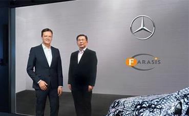 Mercedes-Benz se asocia con el fabricante de baterías Farasis