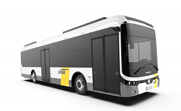 Multibus Bélgica encarga 10 autobuses eléctricos a Ebusco