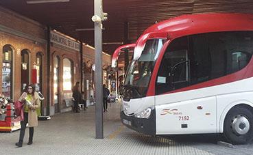 El servicio de autobús interurbano de Extremadura desciende un 96%