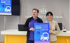 EMT Valencia pone en marcha el programa 'Paradas Violeta'