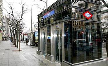 Madrid ultima las obras de la estación de Metro de Tribunal