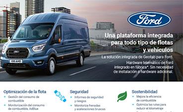 Geotab y Ford amplían su oferta de telemática, integrada en Europa