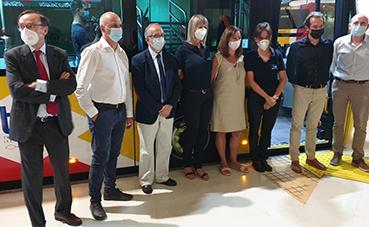 Primeros autobuses de la nueva flota de Grupo Ruiz en Mallorca