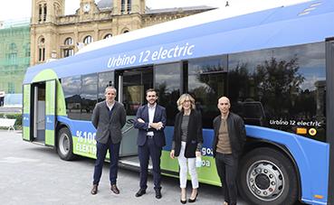 Dbus prueba el autobús Solaris 100% eléctrico, con batería high energy