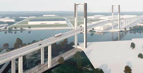 Mitma licita el contrato en obras del Puente del Centenario