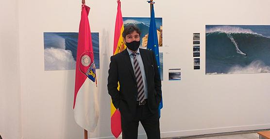 Jaime González, durante la Rueda de Prensa