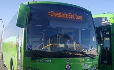 Interbus se suma al movimiento #QuedateEnCasa